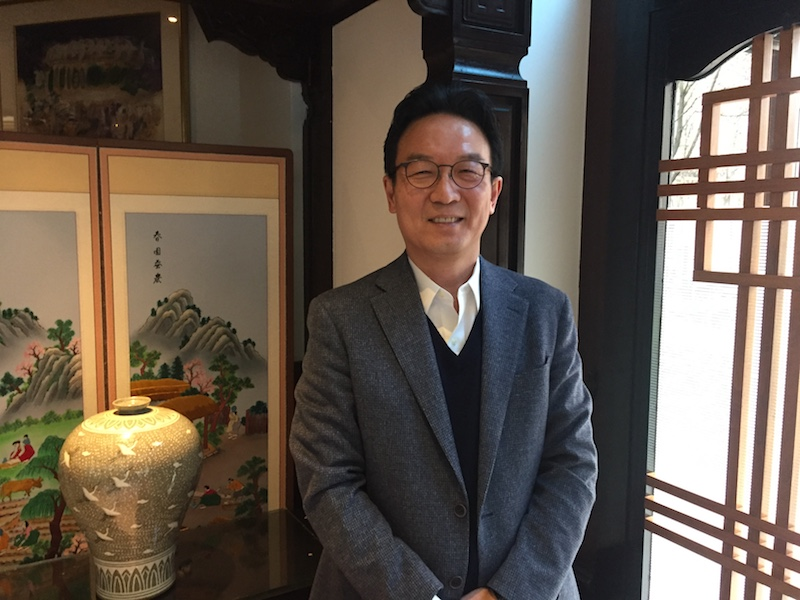 Kang Suk Mok, nouveau directeur du Comité coréen du tourisme à Paris © P.G.
