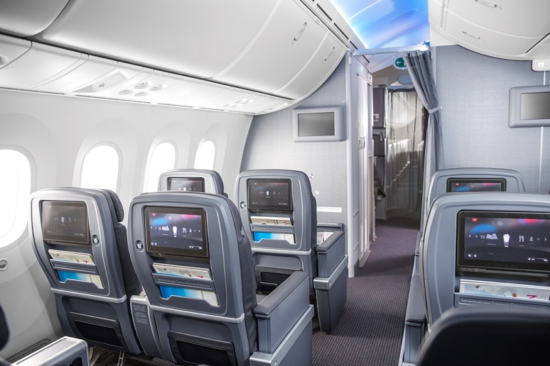 La Premium Economy d'American Airlines - Photo AA