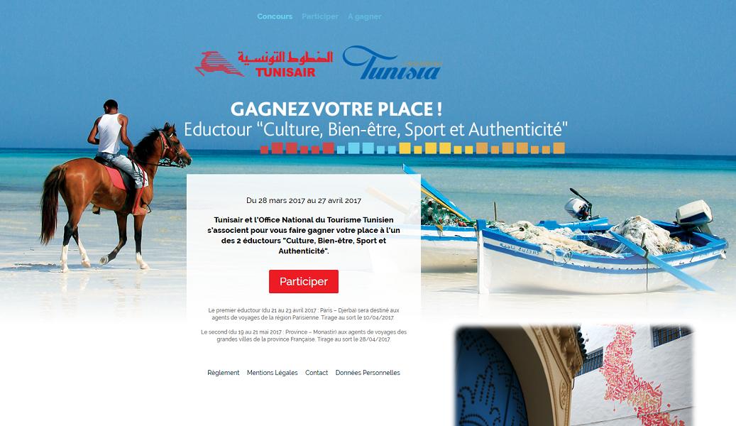 L'ONTT et Tunisair font gagner des places pour 2 éductours en Tunisie
