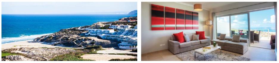 L'adresse Nosylis Collection Praia d'El Rey propose des logements avec une vue panoramique - Photo : Directours