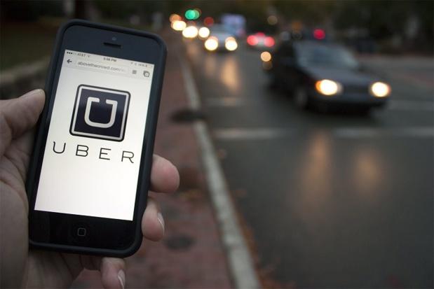 Selon Uber, 300 000 clients utilisent son application de mise en relation pour effectuer une course ou un trajet au Danemark et revendique 2 000 conducteurs (c) maxres