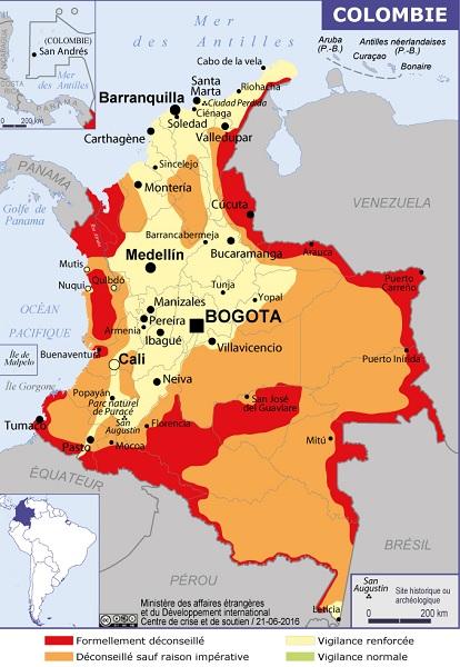 Colombie : le MAE recommande le vaccin de la fièvre jaune dans certains départements