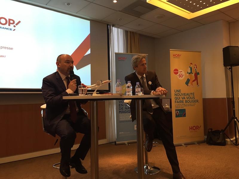 Alain Malka et Zoran Jelkic, directeur général adjoint de Hop! et directeur France d'Air France © DR PG Tourmag