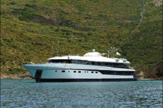 La croisière d'Héliades se déroulera à bord du M/Y Harmony G - Photo : Héliades
