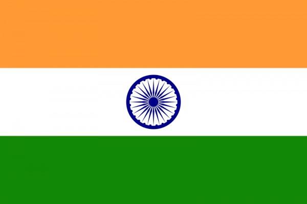 Drapeau de l'Inde - DR : Wikipedia