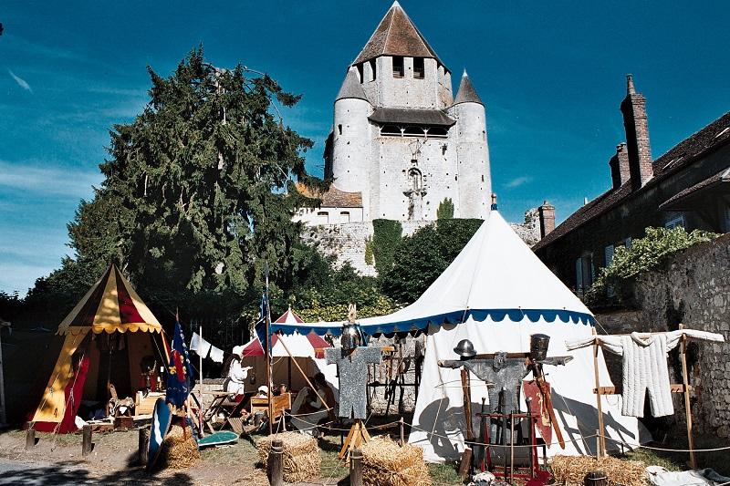 Les 24 et 25 juin 2017, Provins célèbre les 34e Médiévales. DR: Provins