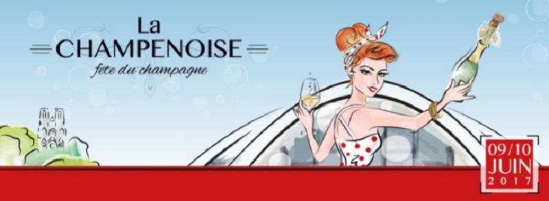 Reims rassemblera locaux, touristes et professionnels autour de la fête du champagne, les 9 et 10 juin 2017 - DR