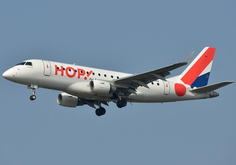 Hop! aurait pu être surement une bonne initiative à condition de déterminer, une bonne fois pour toutes, un secteur d'activité défini et établi dans la durée. Pas une « variable d'ajustement » du groupe Air France - DR : Hop!, P. Dourlot