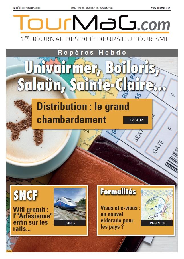 La couverture du 11e numéro de Repères Hebdo - DR : TourMaG.com
