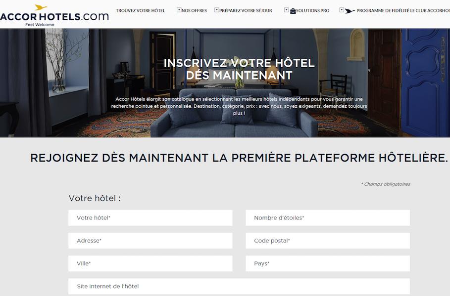 Le groupe compte déjà plus de 2 000 hôtels indépendants répertoriés sur AccorHotels.com (c) AccorHotels