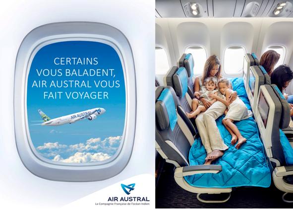 Air Austral : jeu concours et offre agent de voyages à O€HT !