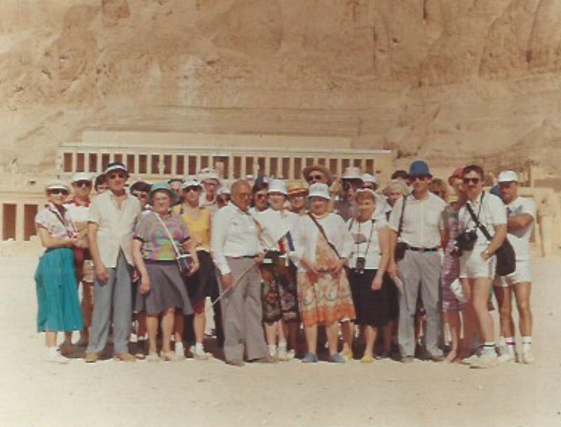 Olivier Mayeux a accompagné plus de 5 000 touristes lorsqu'il était guide accompagnateur - DR : O.M.