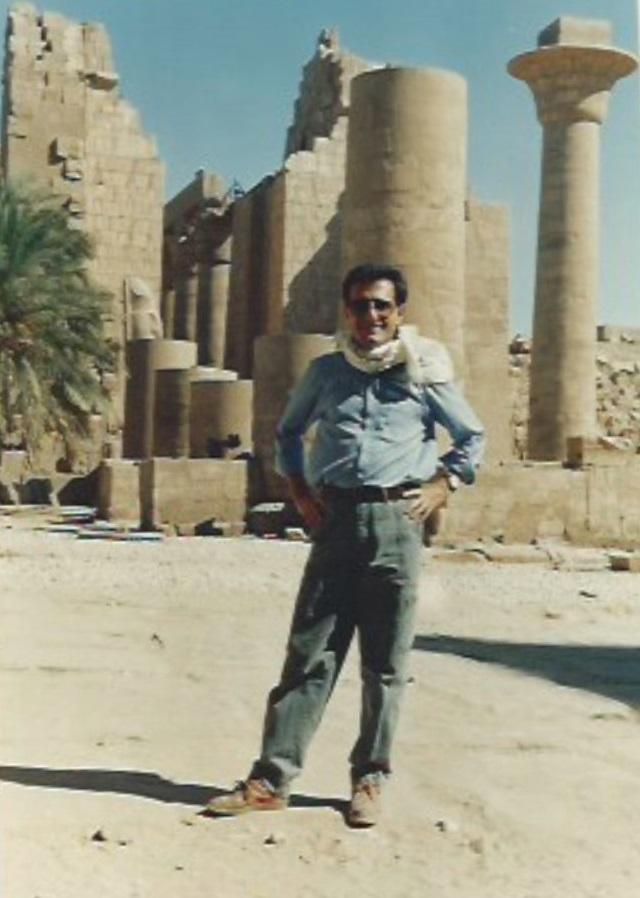 Olivier Mayeux en Egypte - DR : O.M.