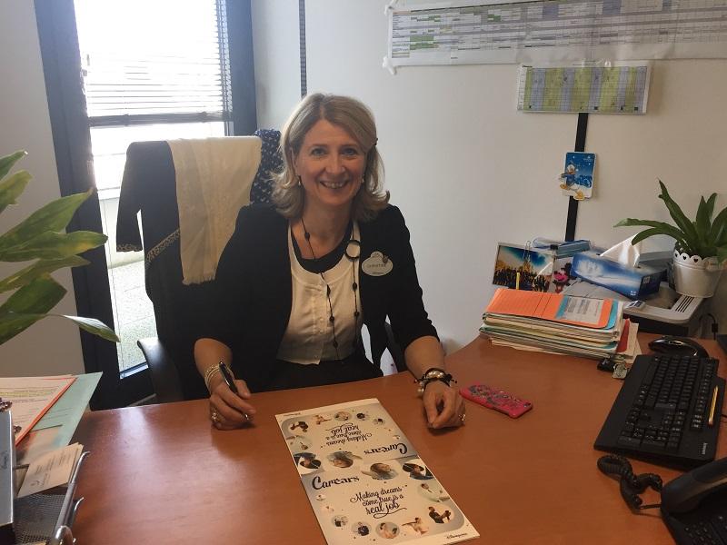 Christine Mabilat, manager communication et relations publiques - DR : Disneyland Paris