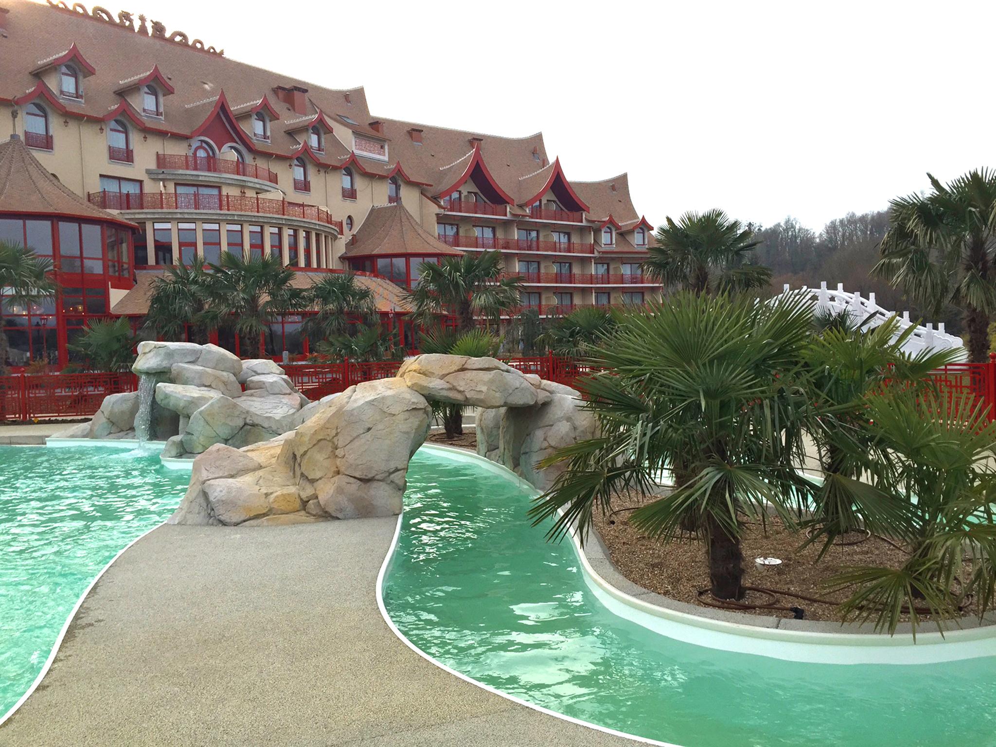 A 700 mètres du ZooParc, l'hôtel 3* Les Pagodes de Beauval d'inspiration chinoise (128 chambres) - DR : ZP Beauval