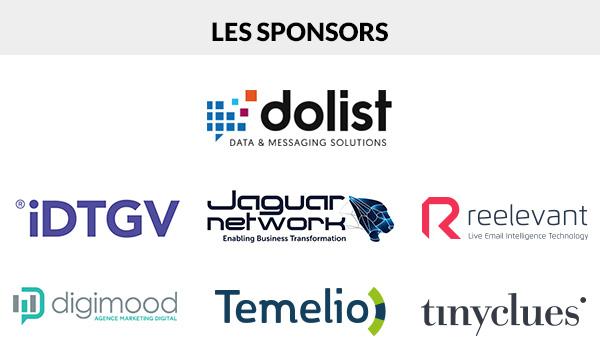 35 prestataires sont attendus parmi lesquels Dolist, Jaguar Network, IDTGV, Reelevant, Temelio, Tinyclues, Digimood - DR