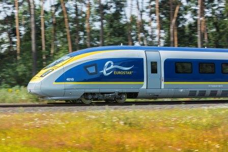 Le trafic Eurostar va progresser de 12 % pour le week-end de Pâques 2017 - Photo : Eurostar Media Center