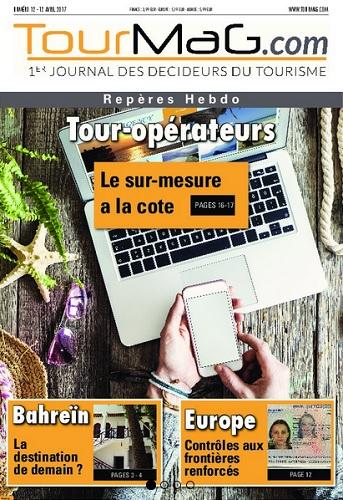 La couverture du 12e numéro de Repères Hebdo - DR : TourMaG.com