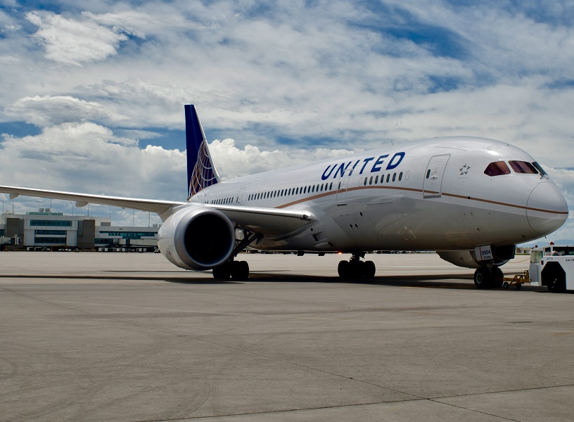 Un passager d'un vol United Airlines a été expulsé de l'avion sans ménagement récemment - Photo : United Airlines