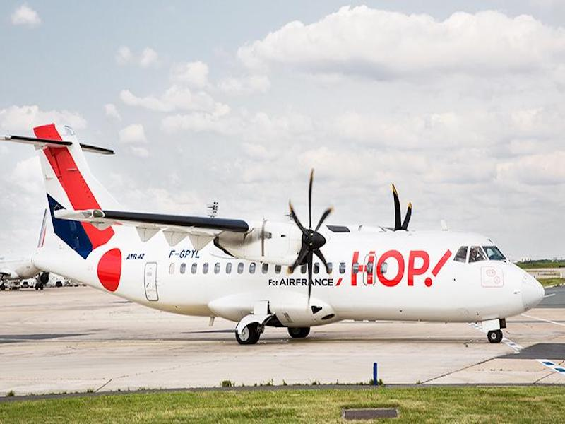 Un ATR-42 de la filiale de transport régionale du groupe Air France © DR