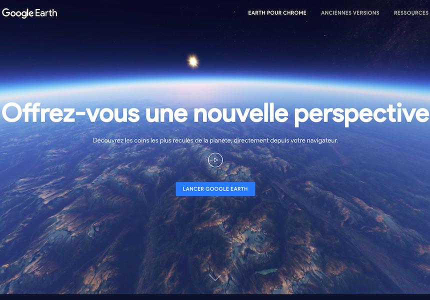 L'intelligence artificielle sera notamment capable de conseiller aux visiteurs d'autres endroits susceptibles de les intéresser en fonction de leur historique et de leurs habitudes de navigation (c) Capture d'écran Google Earth