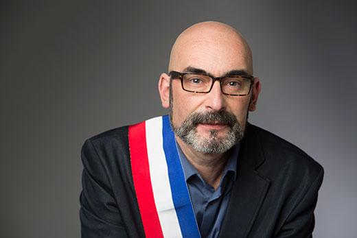 Philippe Bouyssou est le maire d'Ivry-sur-Seine - Photo : Gilles Cohen