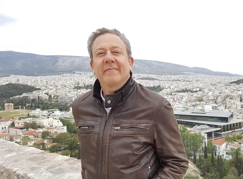 """Jean Brajon, DG d'Héliades : """"Avec le Mythic Tour cette année, ce sont 160 agents que nous amenons en Grèce, à Athènes, puis sur deux îles des Cyclades, Paros et Santorin"""" : Photo A.B."""