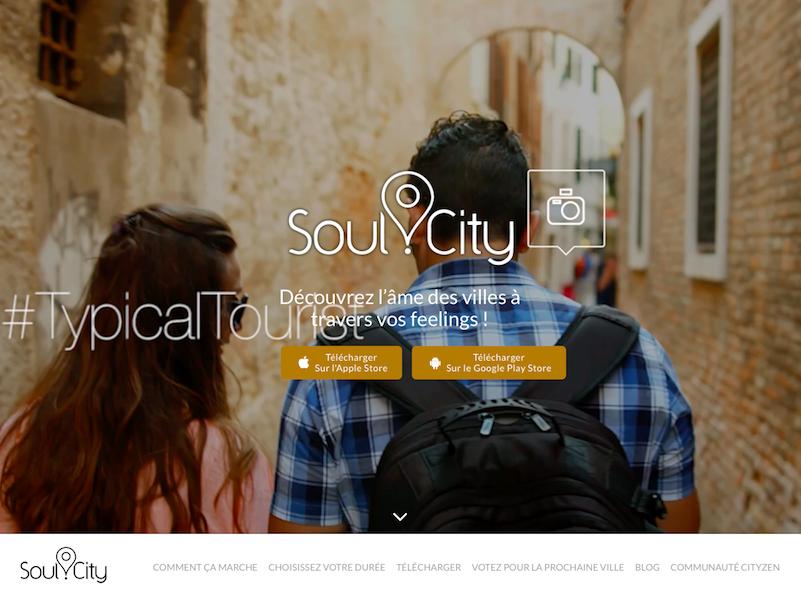 L'application répond aux besoins des utilisateurs voulant de plus en plus vivre des expériences, se rapprocher de l'authenticité tout en restant autonome et indépendant (c) Soul.city
