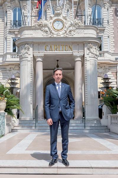 Giuseppe Vincelli, nouveau directeur général de l'InterContinental Carlton Cannes  © InterContinental Carlton Cannes