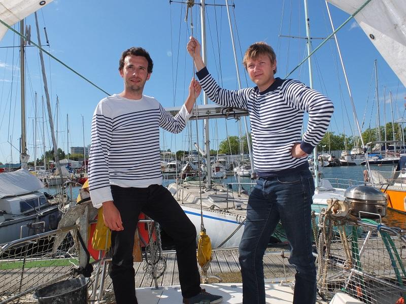 Laurent Calando et Nicolas Cargou ont fondé Samboat en 2014, une start-up qui compte aujourd'hui 18 collaborateurs et qui recrute 8 candidats - DR : SamBoat