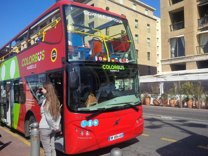 Nouvelle marque, Colorbus participe à la promotion touristique et économique de Marseille DR: Aurélie Resch