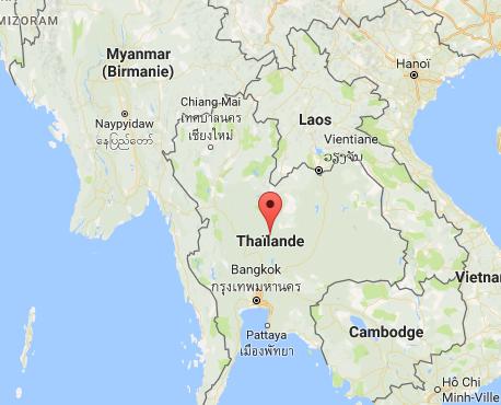 Le visa sera valable 60 jours pour la Thaïlande et 30 jours pour le Cambodge - DR : Google Maps