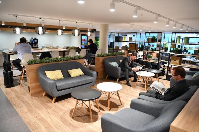 Le nouveau salon HOP! Air France situé à Paris - Orly Ouest - DR