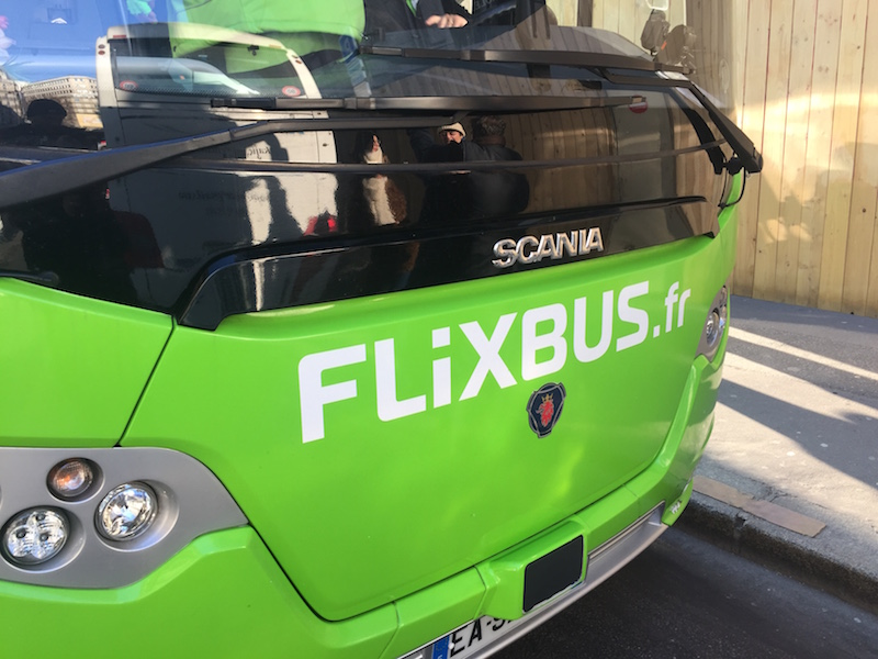 FlixBus va pouvoir rouler entre Paris et l'aéroport de Beauvais - Photo : FlixBus