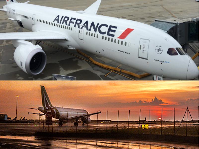 Quel sera l'avenir d'Air France et Alitalia ? - Photos : Air France/Alitalia