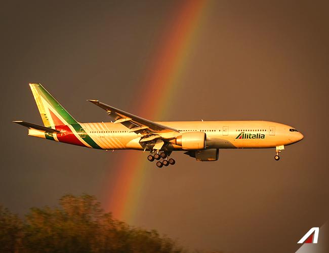 """""""IATA a demandé à la compagnie un deposit qui doit être versé sous quelques jours"""" a indiqué Jean-Marc Rozé qui a reçu ce jeudi matin, une communication de Madrid - DR Facebook Alitalia"""