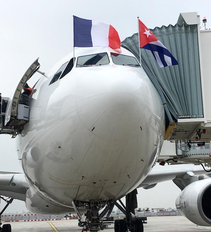 Corsair a lancé son premier vol vers La Havane ce jeudi 4 mai 2017 - DR