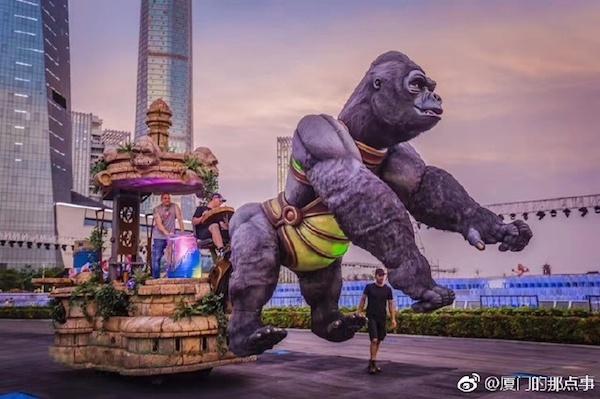 L'Office du Tourisme et des Congrès de Nice exporte le Carnaval de Nice en Chine - Photo DR