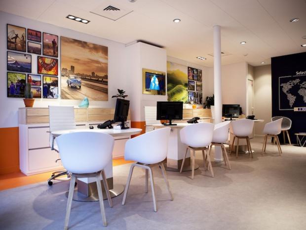 L'agence Selectour Orelis fraichement rénovée - Photo Selectour