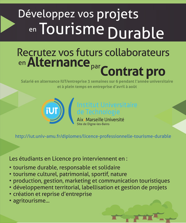 office de tourisme paris recrutement alternance