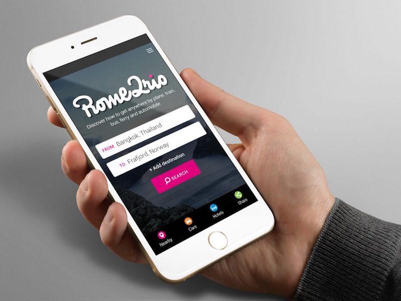 La plate-forme multimodale basée à Melbourne Rome2rio est en phase avec le compétiteur européen GoEuro en lançant des réservations sur son site (c) Rome2rio