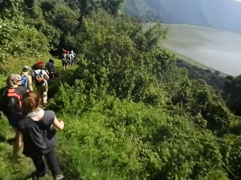 Huwans propose de découvrir ses séjours d'aventure avec des vidéos à 360° - DR : Huwans/Youtube