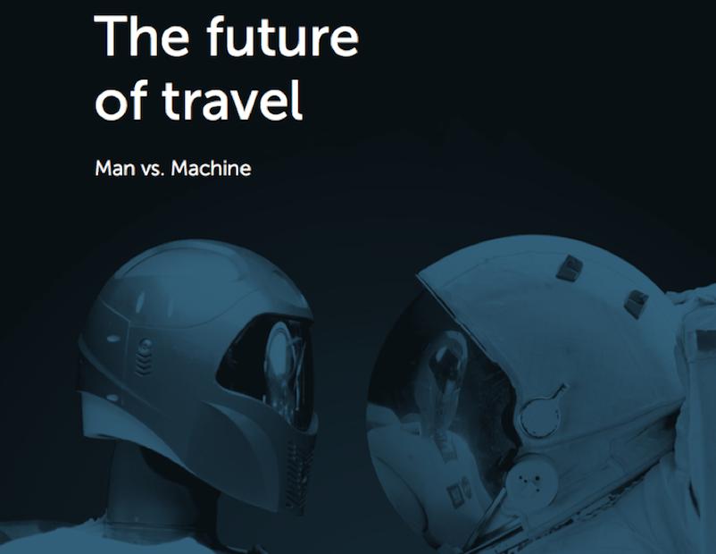 """20 marques leaders de l'industrie du tourisme ont contribué à l'élaboration de l'édition 2017 du rapport """"Future of Travel"""" proposée par Qubit et Travel Weekly, sur le thème Man vs Machine - DR : Qubit"""