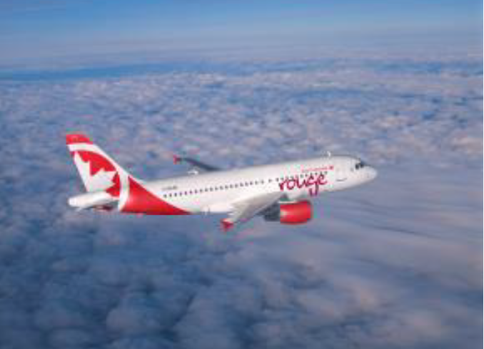 Air Canada Rouge déploie la connexion Internet à bord de ses Airbus A319 - Photo : Air Canada Rouge