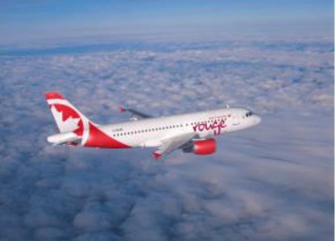 Air Canada Rouge déploie la connexion Internet à bord de ses Airbus A319 - Photo : Air Canada Rouge