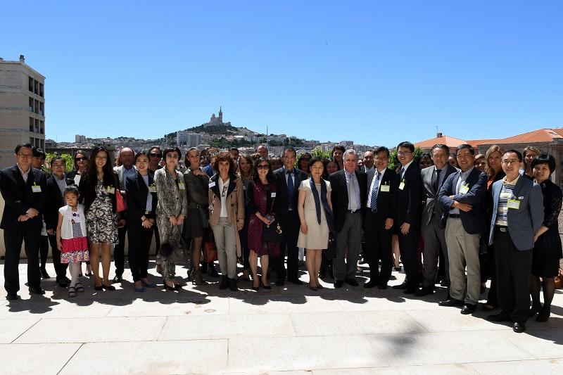 L'Office de Tourisme et des Congrès de Marseille accueille, du 18 au 20 mai 2017, une délégation de l'Office de Tourisme de Shanghai - DR : OTCM