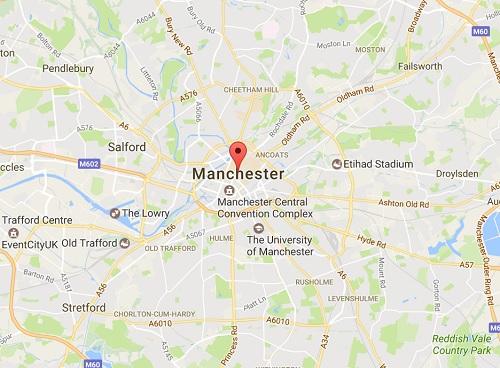 Le concert avait lieu à Manchester Arena au Royaume-Uni  - DR