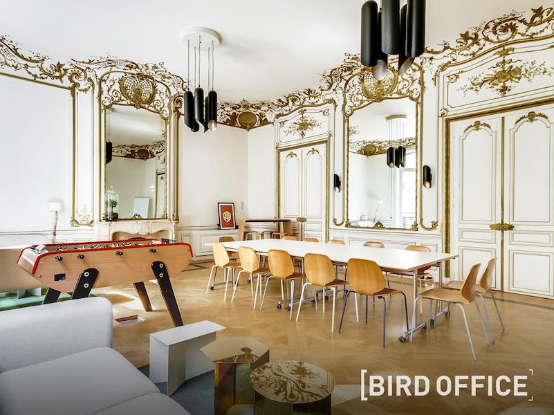 Présentée comme le Airbnb des bureaux, Bird Office propose aux entreprises un service pour simplifier l'organisation de leurs événements. (c) Bird Office