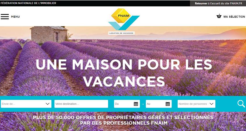La FNAIM met en ligne une plateforme de location saisonnière