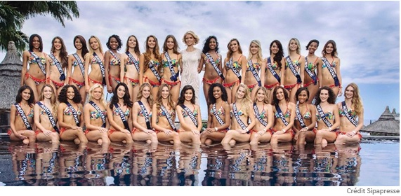Les Miss France en Californie avec Air Tahiti Nui